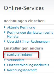 1 anlage - Bankverbindung Ndern Muster