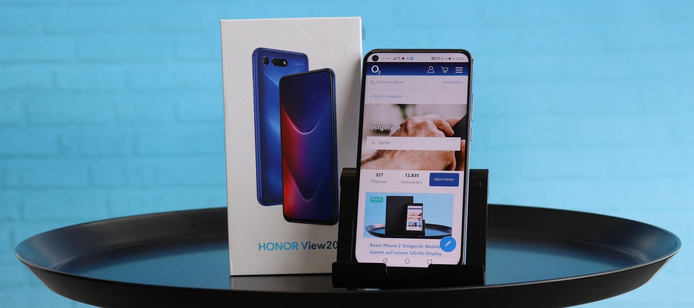 Honor View 20 Testgerät  - Das Designer-Smartphone sucht eine Testerin oder einen Tester!