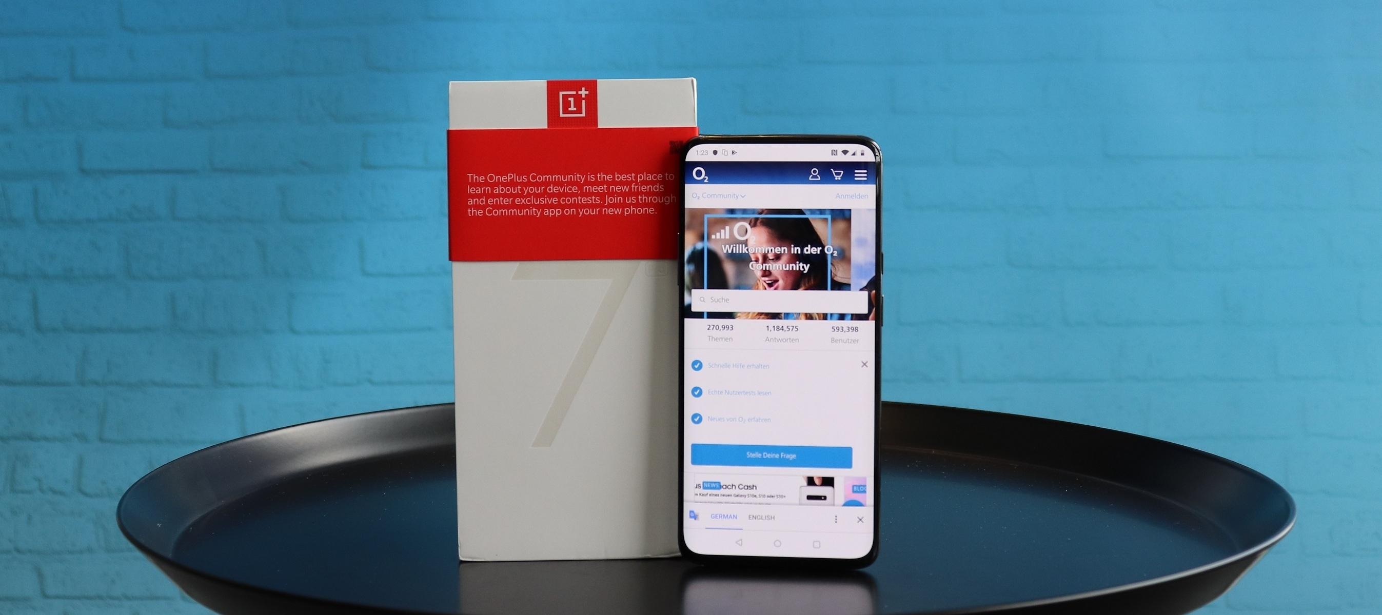 OnePlus 7 Pro Testgerät - Top Technik zum günstigen Preis. Smartphone-Tester/innen aufgepasst!