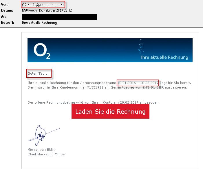 Achtung Gefälschte O2 E Mails Im Umlauf O₂ Community