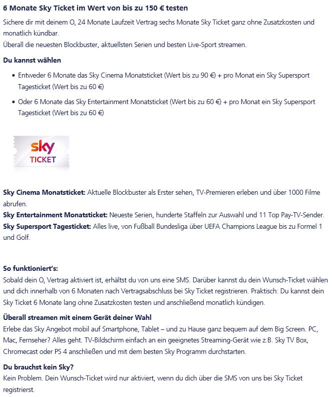 Sky Ticket Kündigen O₂ Community