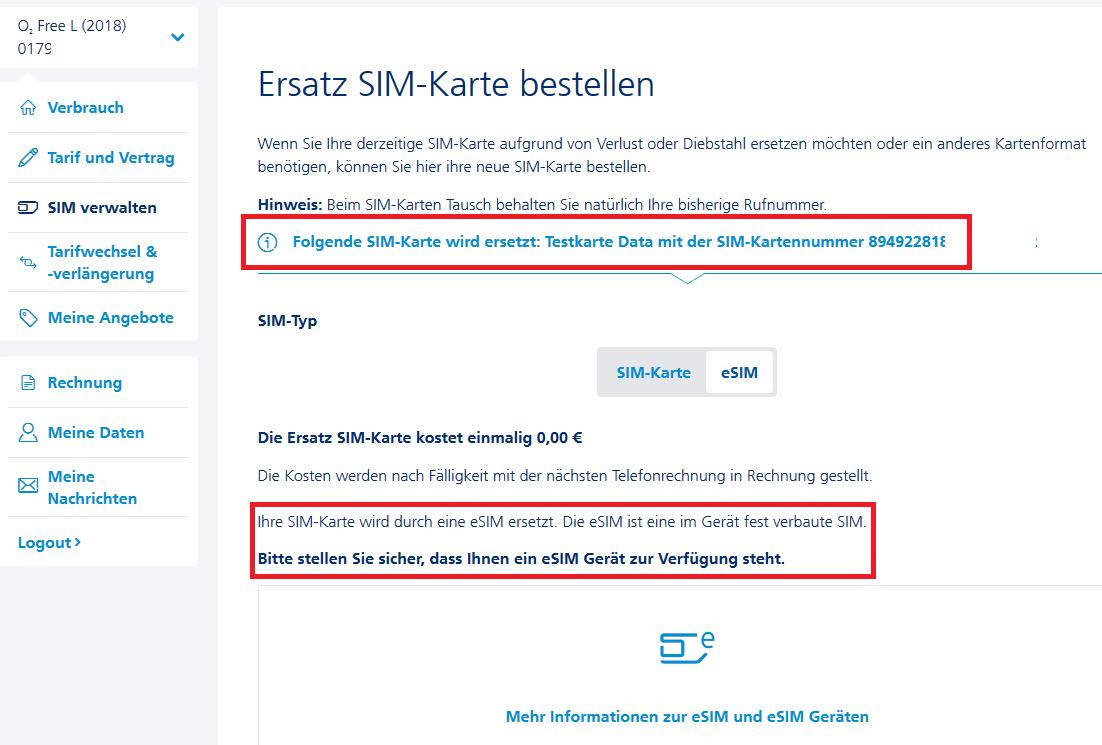 sim karte funktioniert nicht SIM Karte funktioniert nicht mehr nach eSIM Aktivierung | O₂ Community