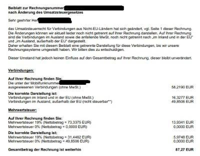 Rechnungsbetrug Bei Auslandsaufenthalt O₂ Community
