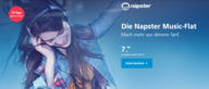 Battle der Musik-Streaming-Dienste: Die Napster Music-Flat +mobile