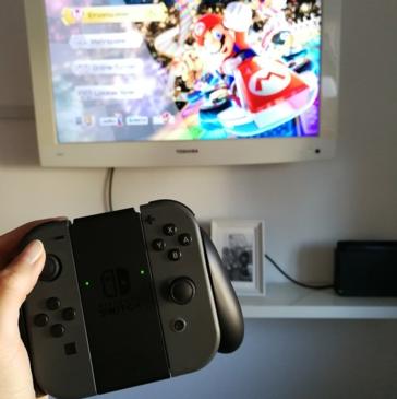 Nintendo Switch - egal wo, zu wievielt & wie groß!