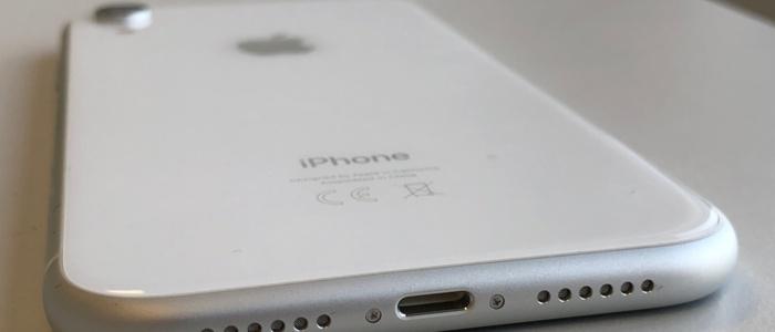 Testgerät: Apple iPhone XR