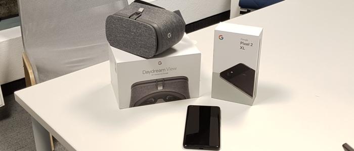 Bundle zum testen Google Pixel 2 XL & Google Daydream 2