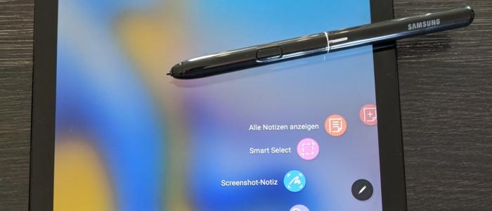 Ein schneller Blick auf das Samsung Galaxy Tab S4