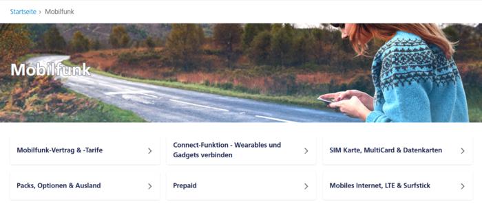 Verbesserte Navigation in der o2 Community: Neue
