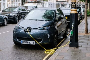 Availability of charge points for electric cars