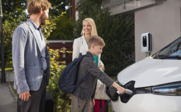 Smart meters and EV's supplying the grid