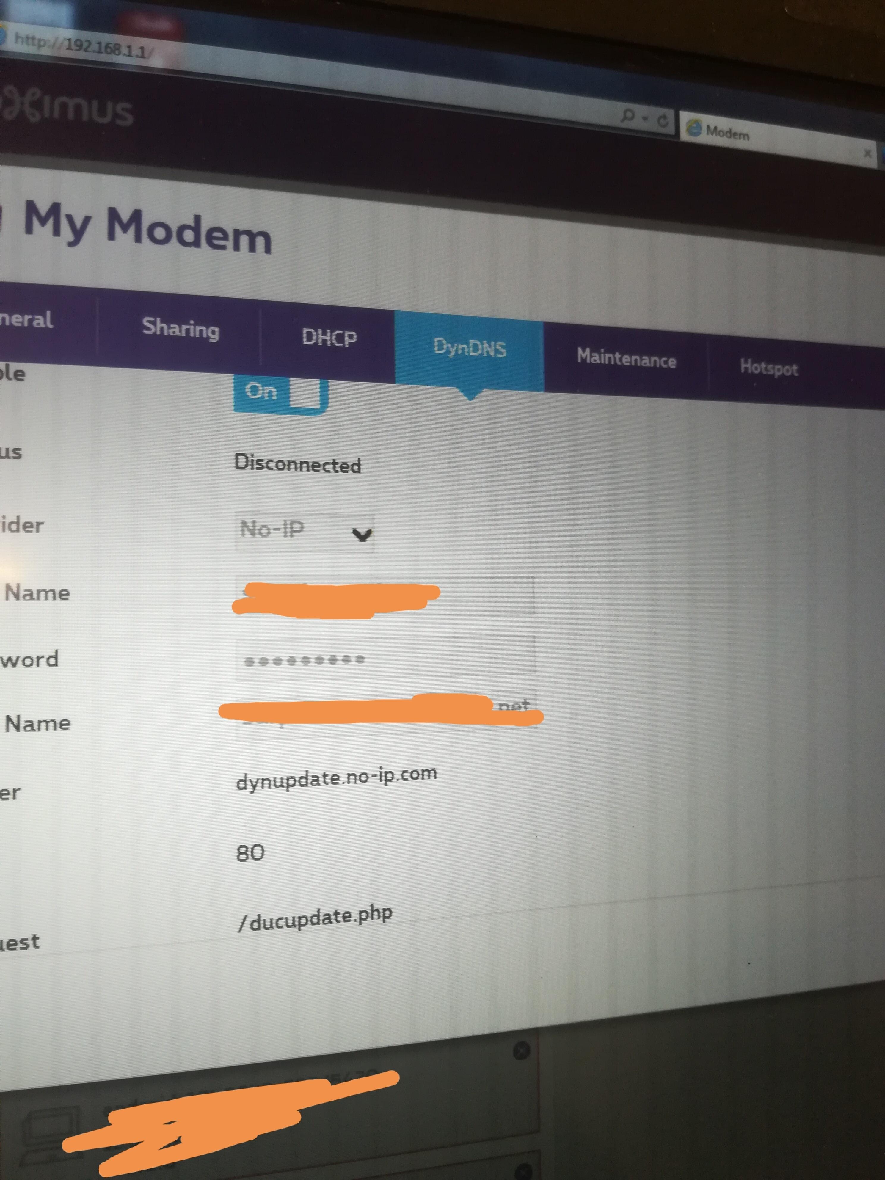 DynDNS functie werkt niet op bbox 3   Proximus Forum
