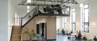 Van gymzaal naar duurzaam kantoor