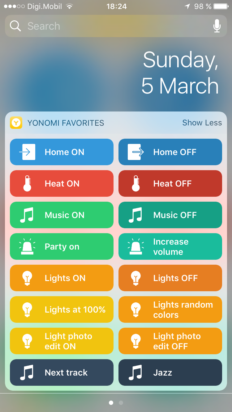 Finally!!!: Home Automation -> Auto lights ON and (sonos) music ON