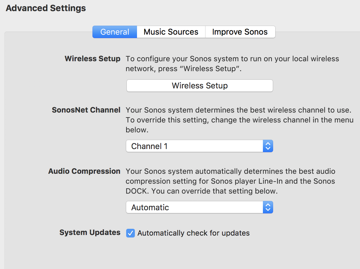 Issues on Wifi Network / Help on Matrix needed | Sonos