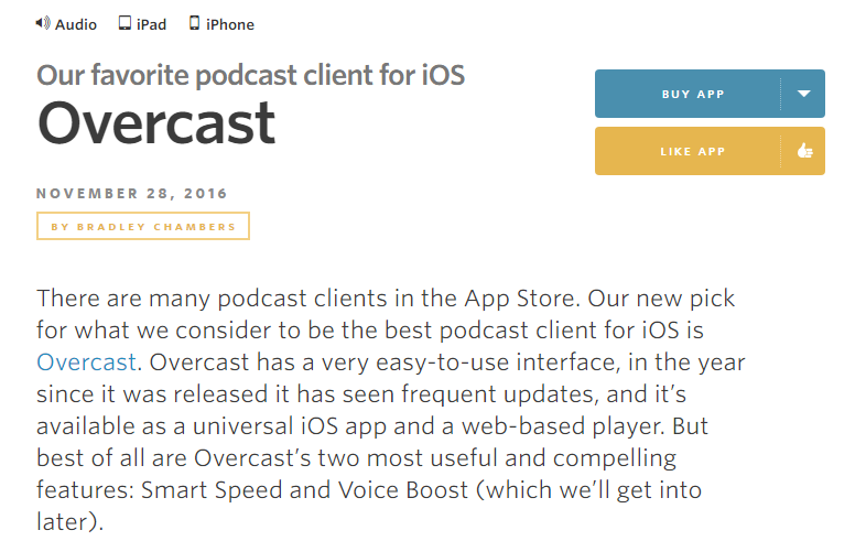 Sonos and Overcast (podcast app)   Sonos Community