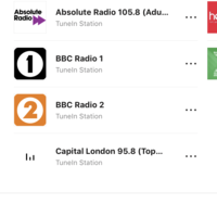Radio Alarm - no stations showing | Sonos Community