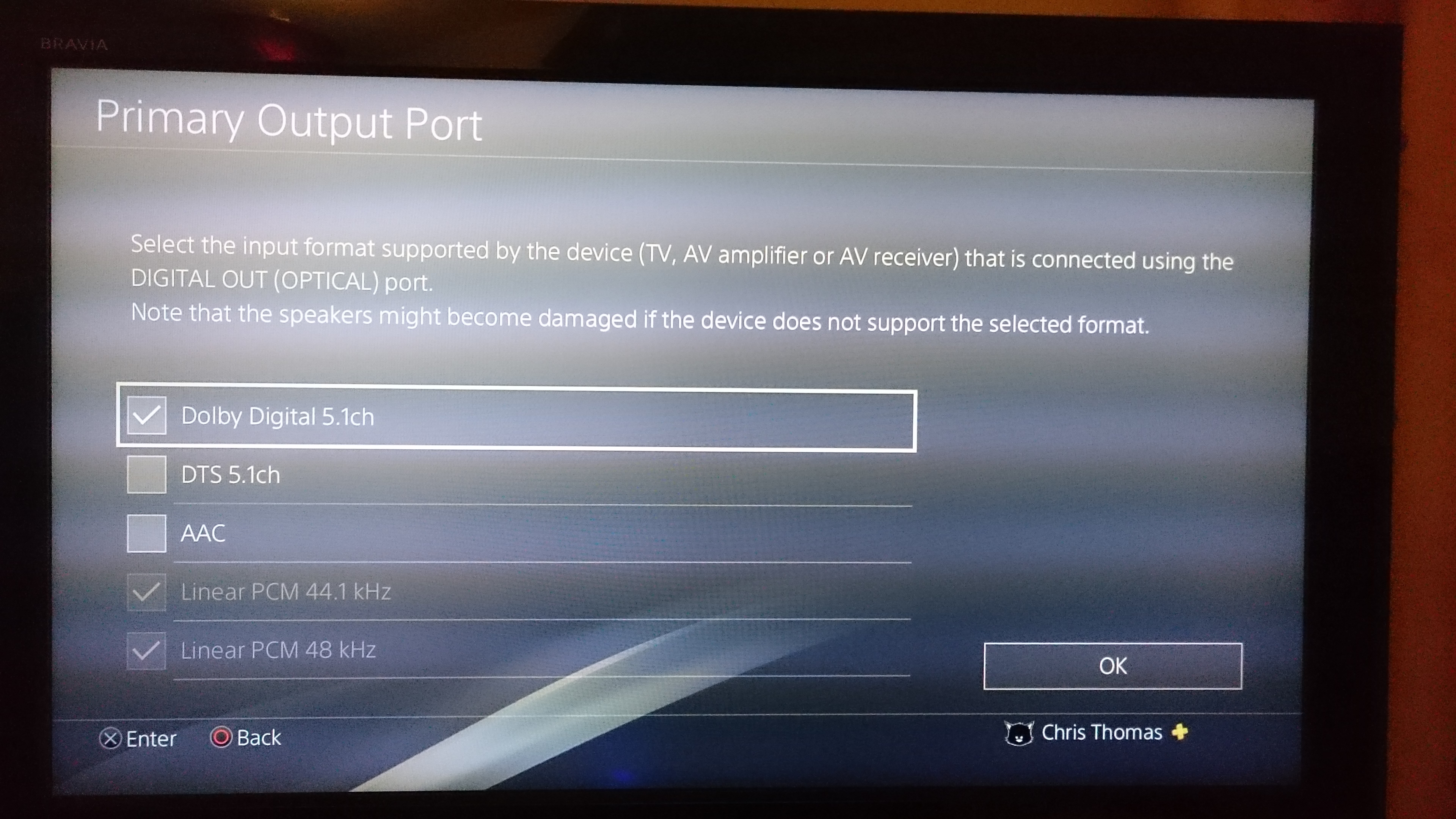 My experience getting 5 1 from the PS4 | Sonos Community