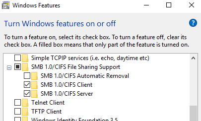 Sonos was unable to add the music folder & the computer is not
