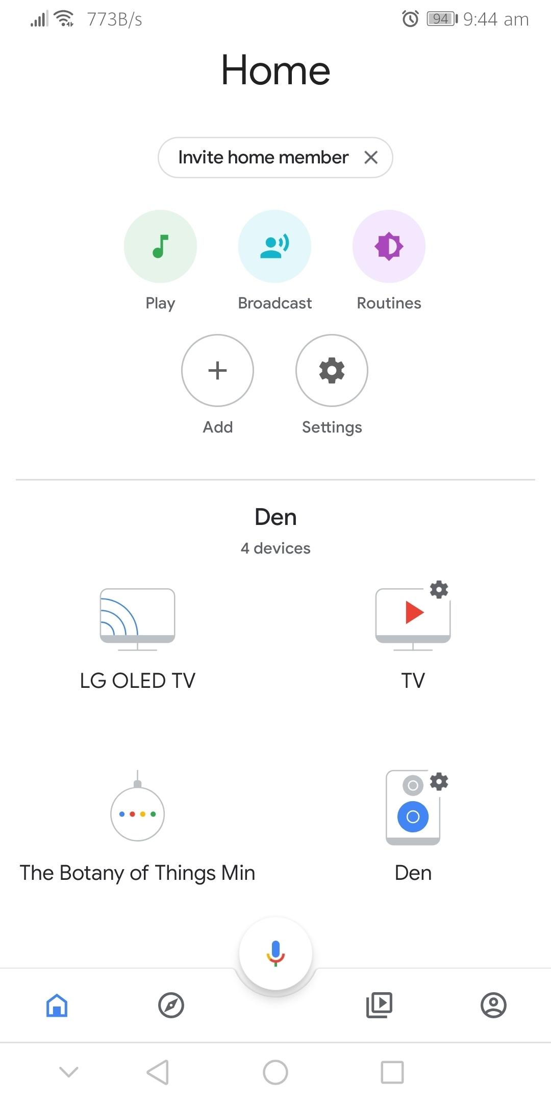 Sonos Beam, Chromecast, Google Home Mini and YouTube Music