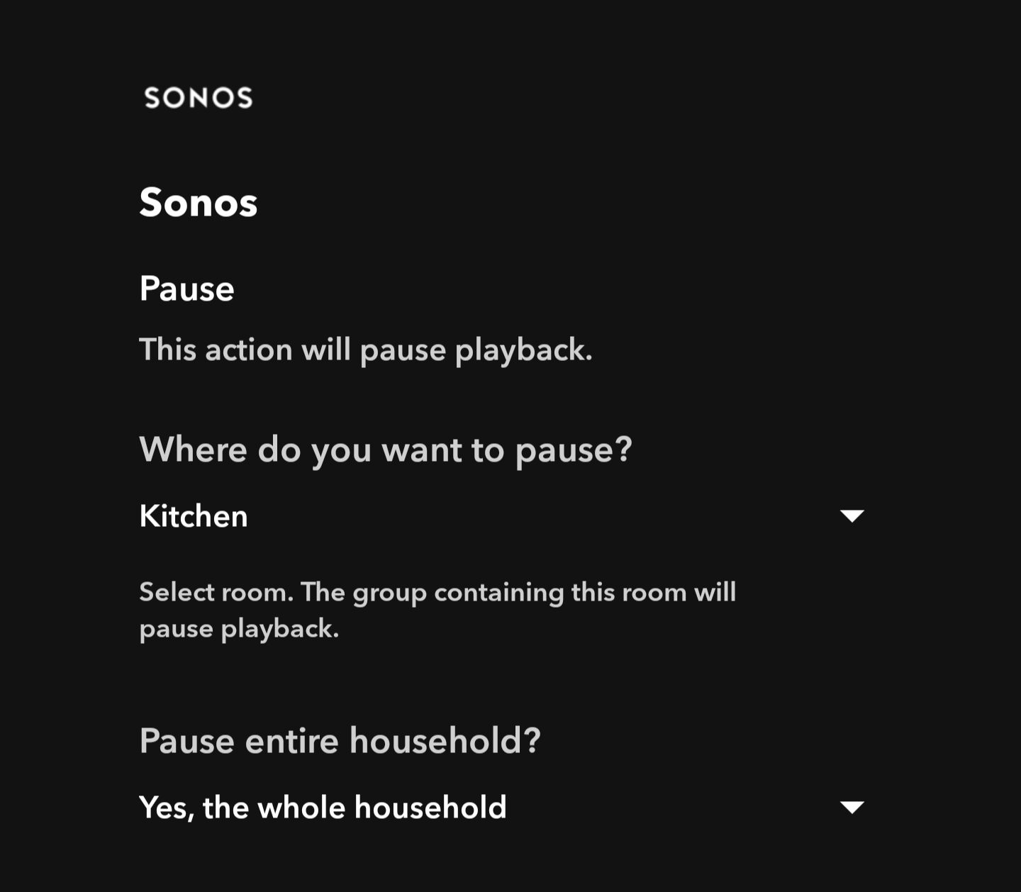 If This Then Sonos | Sonos Community