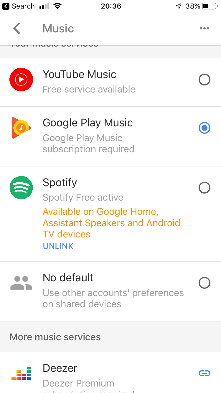 Google Assist & Spotify Free on Beam not working | Sonos