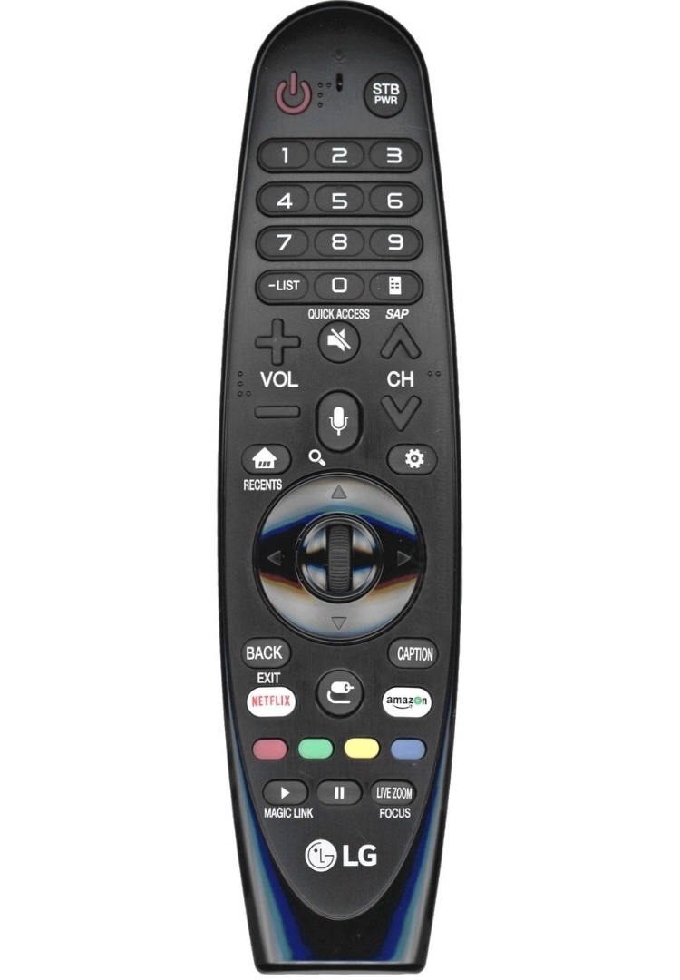 How do I connect my magic remote for LG OLED 55B7V to Sonos