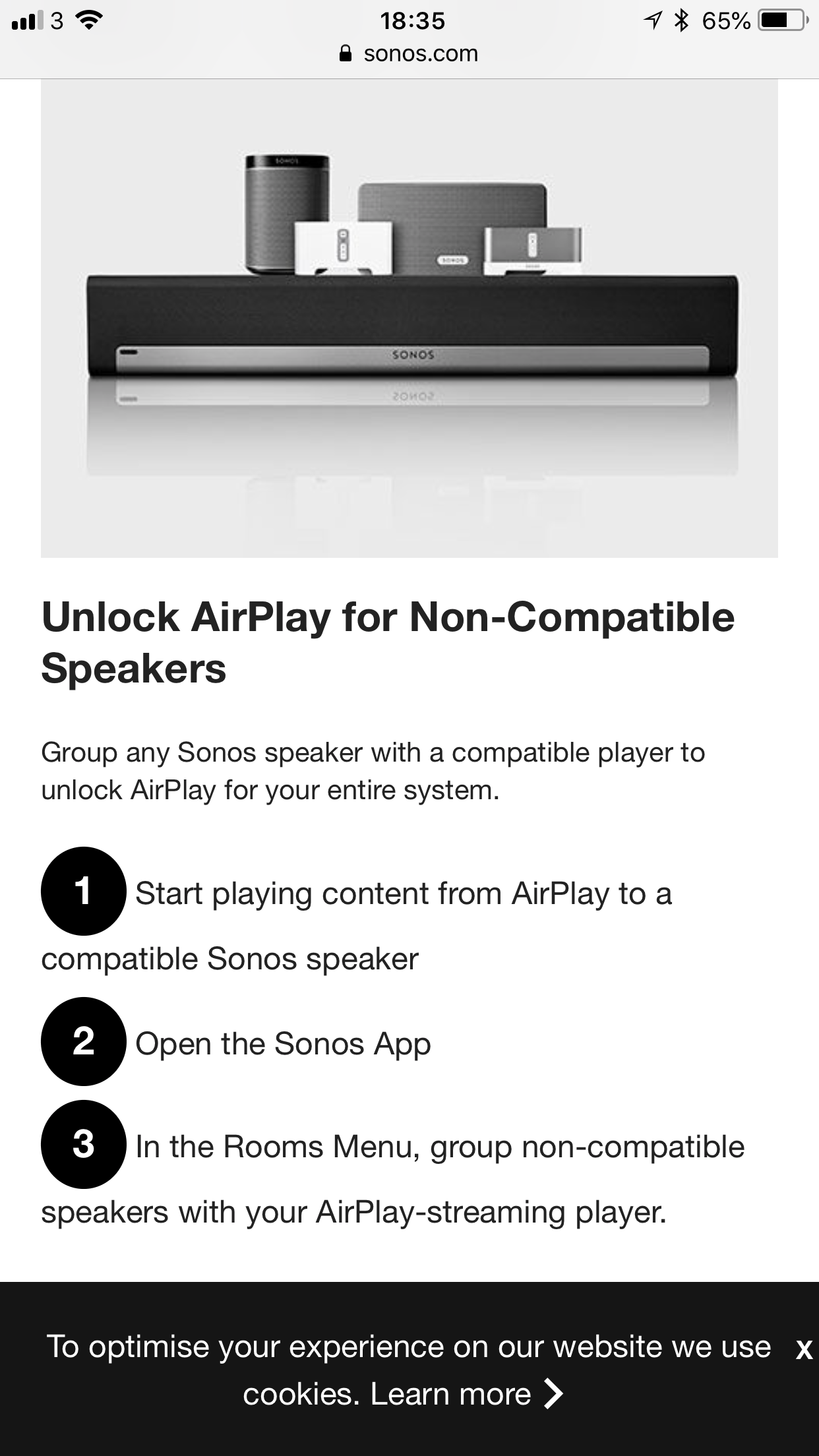AirPlay 2 support (Playbar + Sonos One) | Sonos Community