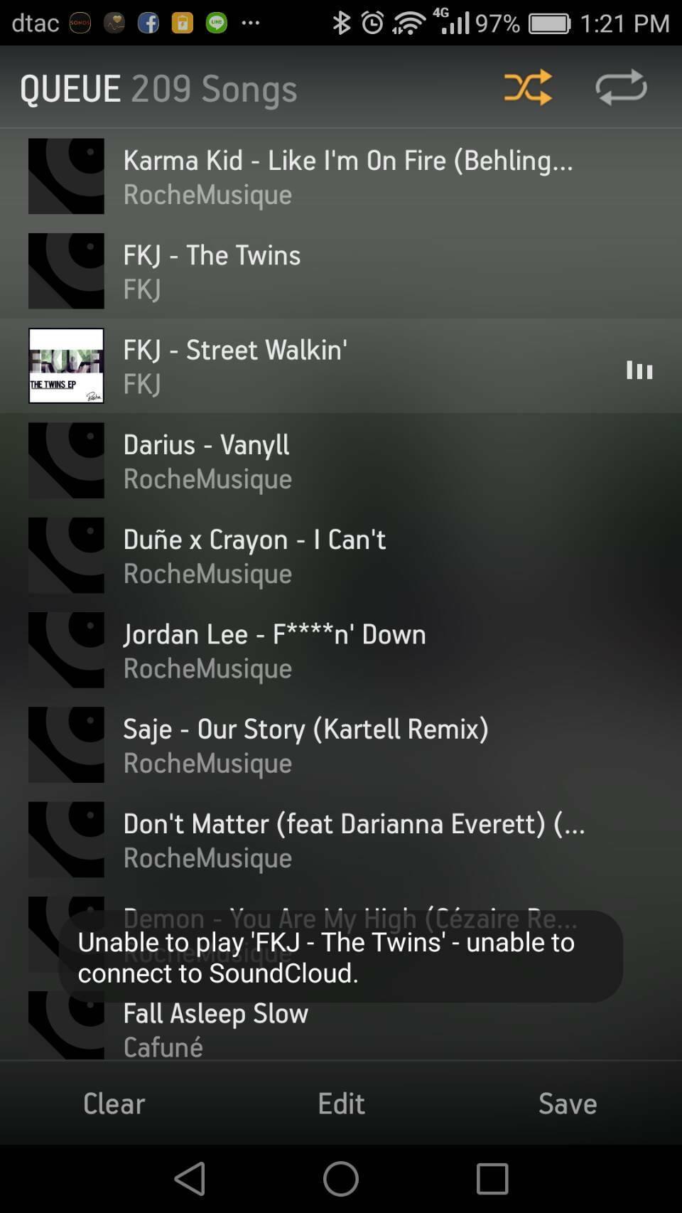 Unable to connect to SoundCloud | Sonos Community