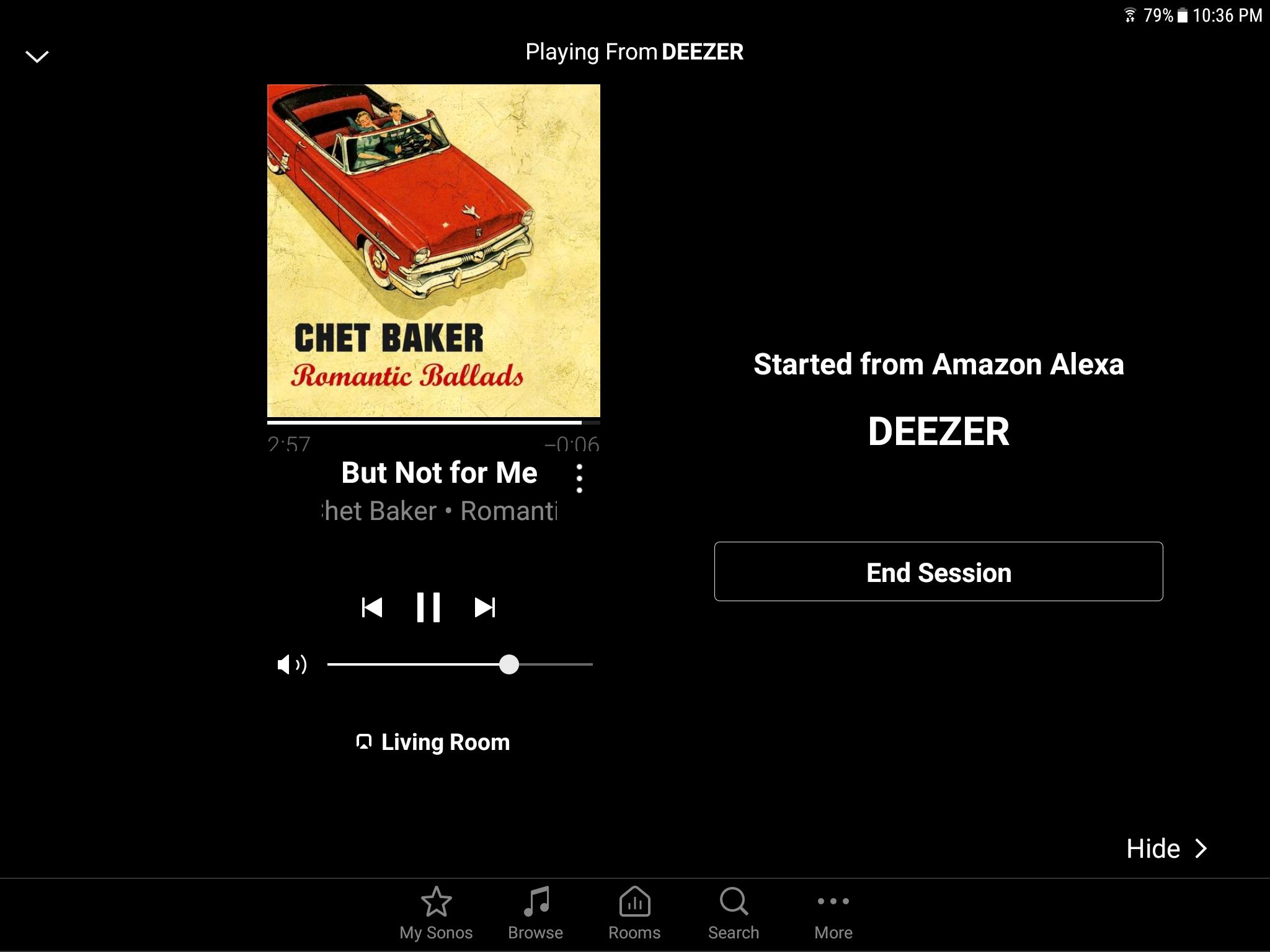 Deezer now in Alexa app   Sonos Community