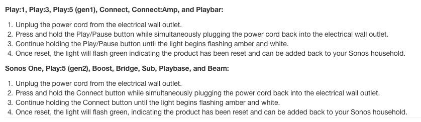 Beam/Panasonic setup | Sonos Community