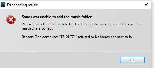 FreeNas and Sonos | Sonos Community