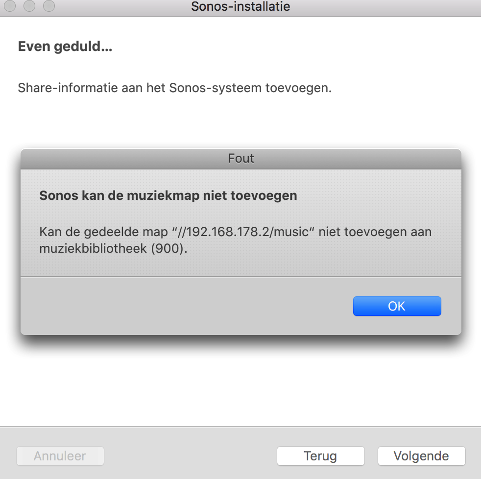 Sonos connecting error with Synology NAS | Sonos Community