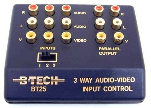 Preamp with multiple inputs (including phono) for use with CONNECT