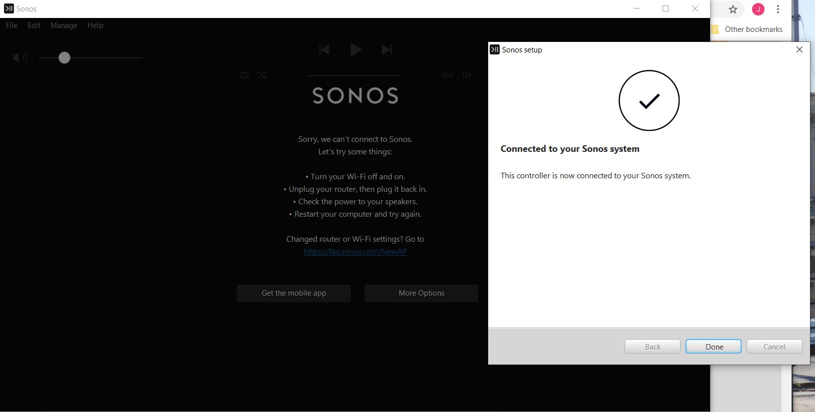 Windows 10 Controller completely useless again | Sonos