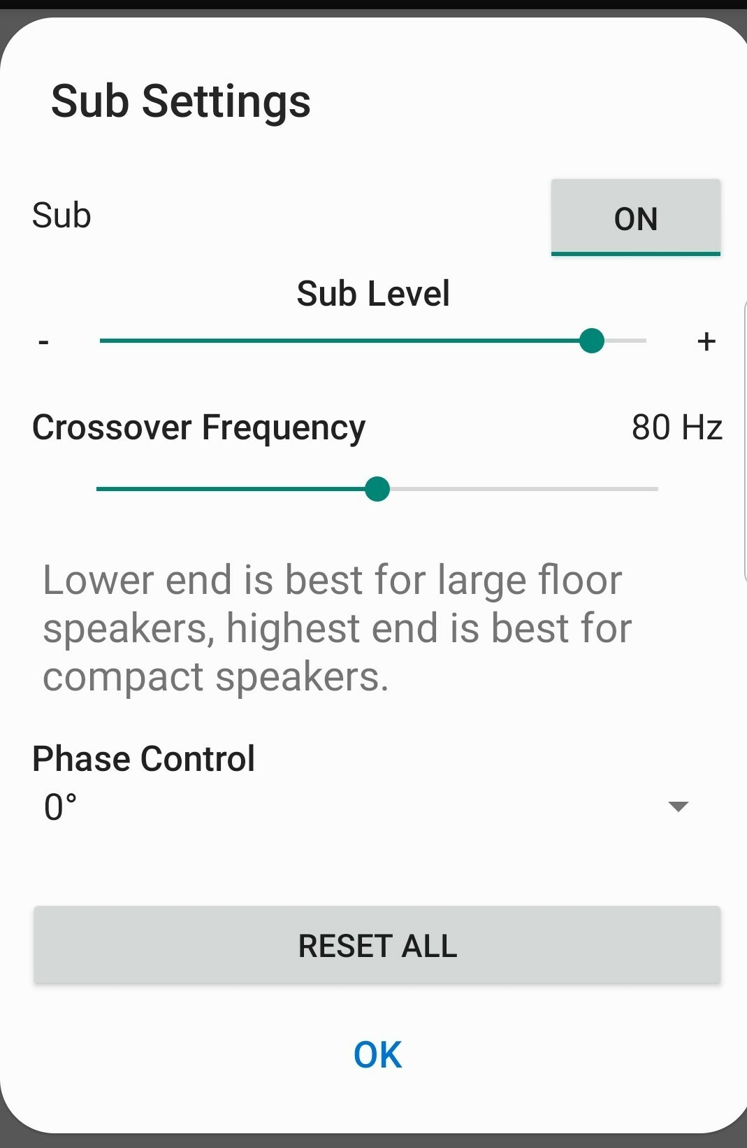 Sonos Amp and 3rd party subwoofer issue  | Sonos Community