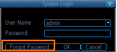 How to Re set Password on DVR 85000 | Swann Support Community