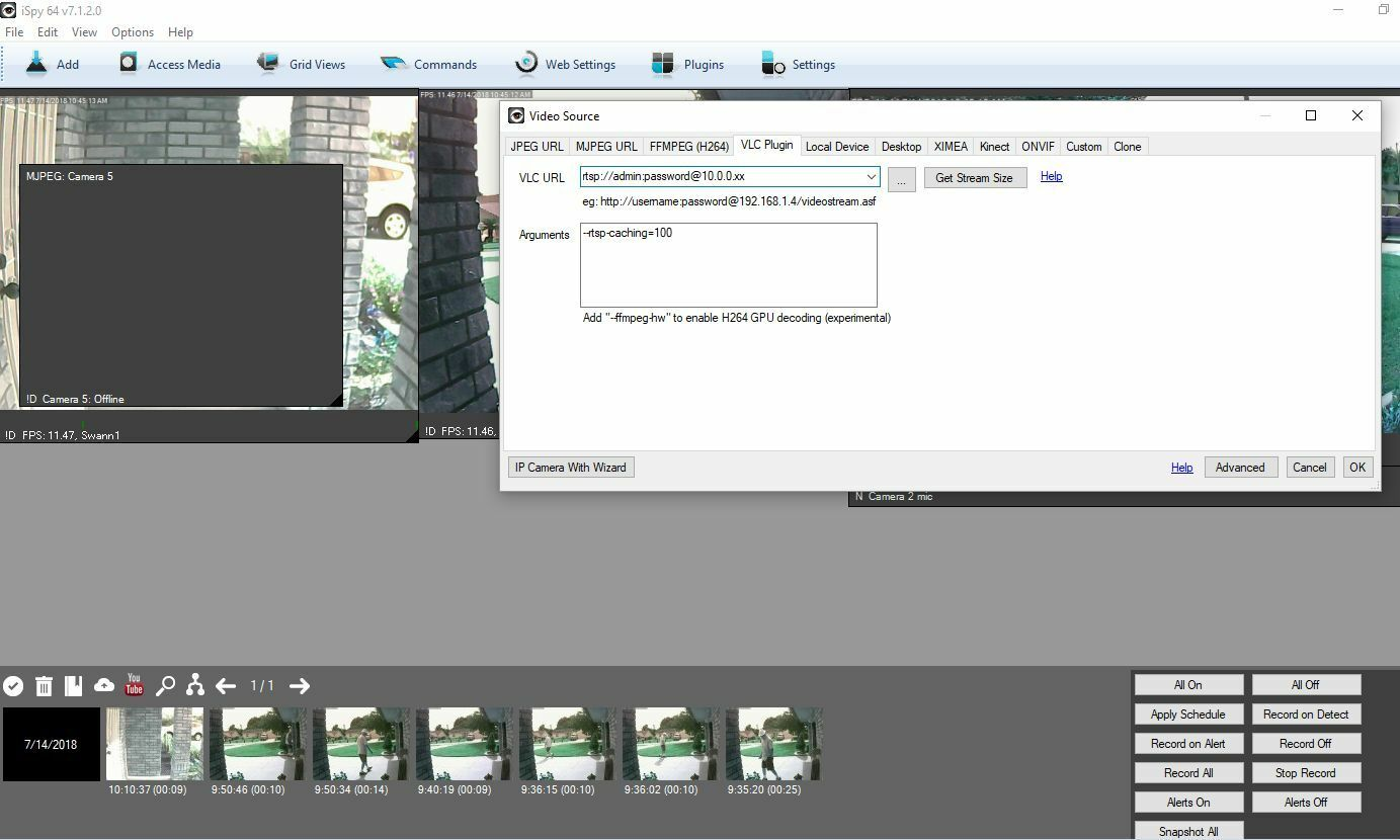 Using PTCAMs with the Windows software | Swann Support Community