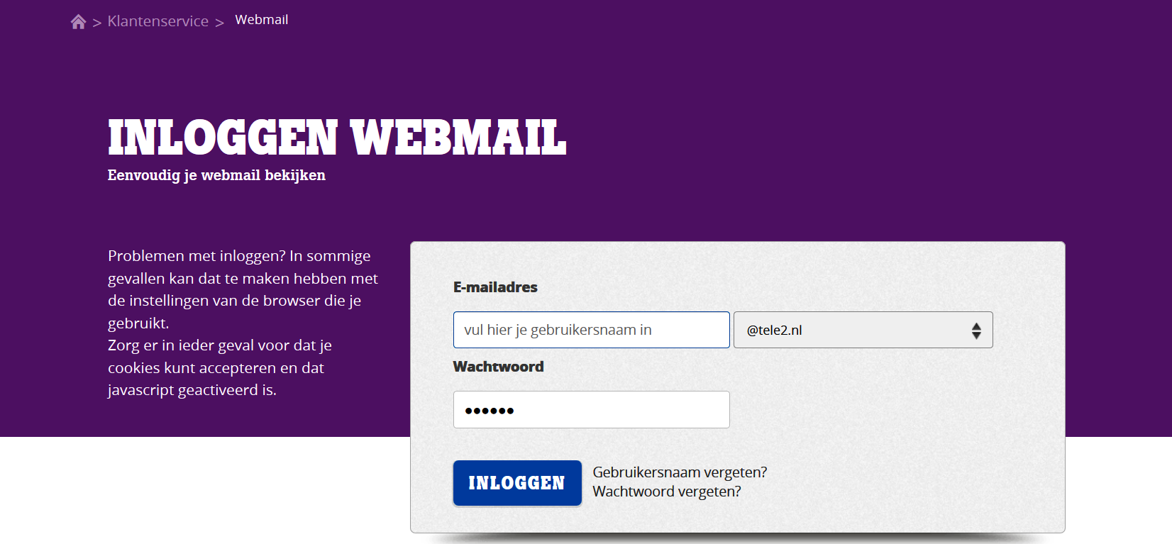Tele2 E Mail