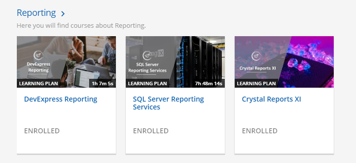 Crystal Reports Learning Plan now available!   Thinkwise