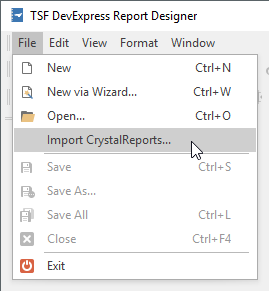 Questions regarding the use of DevExpress Reporting