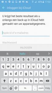 bestanden van iphone naar samsung