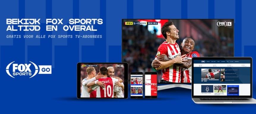 FOX Sports GO: bekijk alle topwedstrijden op je PC, tablet