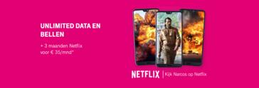 [Nieuws] 3 maanden gratis Netflix bij elk nieuw Go Unlimited abonnement!