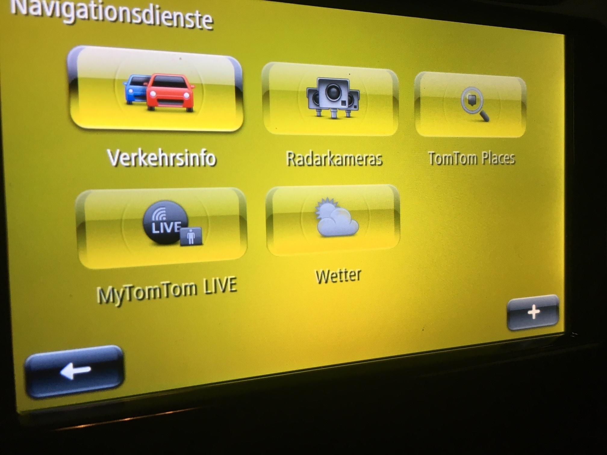 smart media system mytomtom live dienste nicht verf gbar. Black Bedroom Furniture Sets. Home Design Ideas