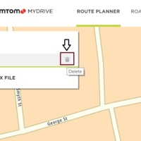 deleting route from route planner tomtom forum and community