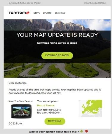 carminat tomtom maps free download
