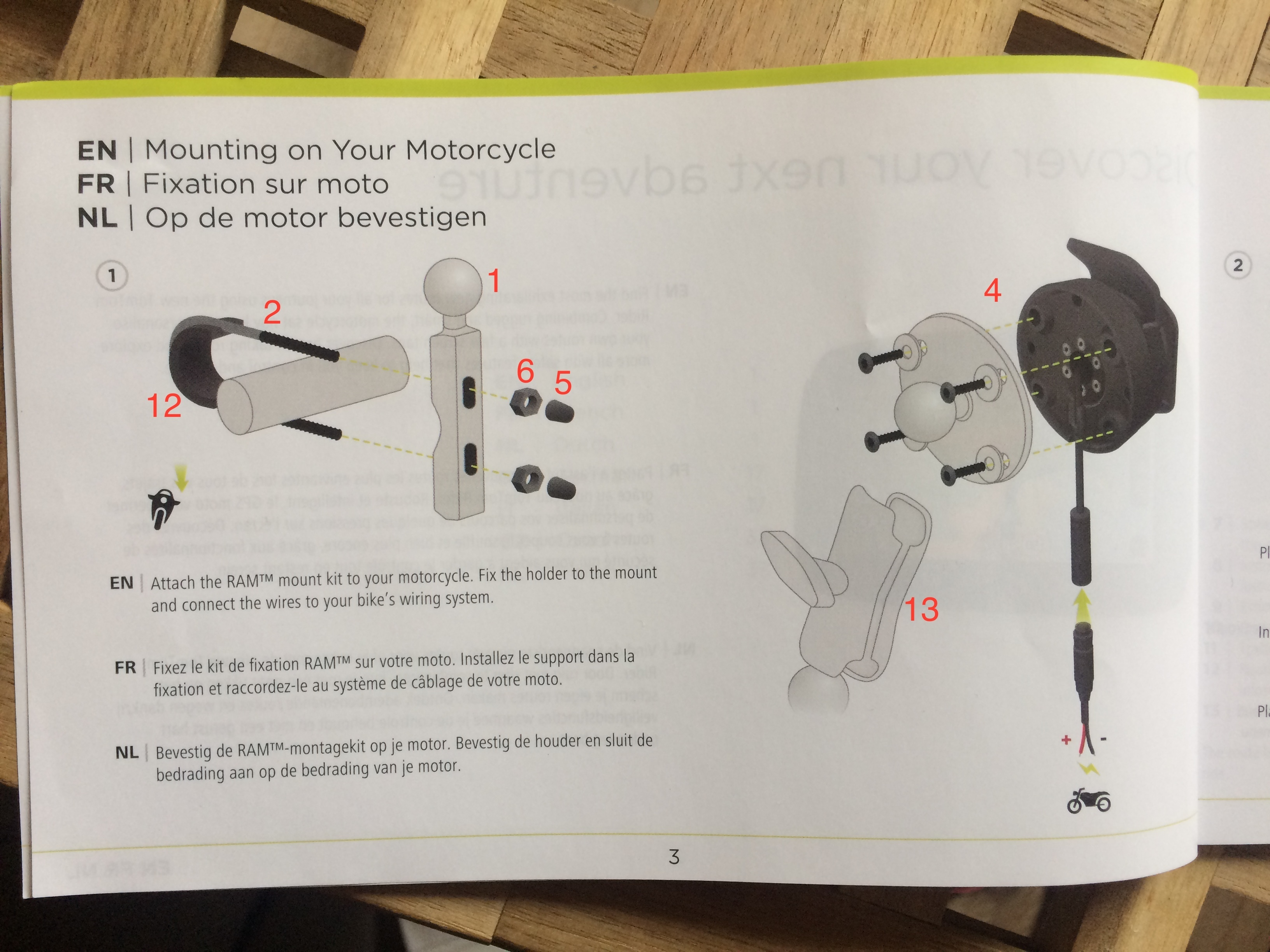 2 Attachments. instructions · user manual ...