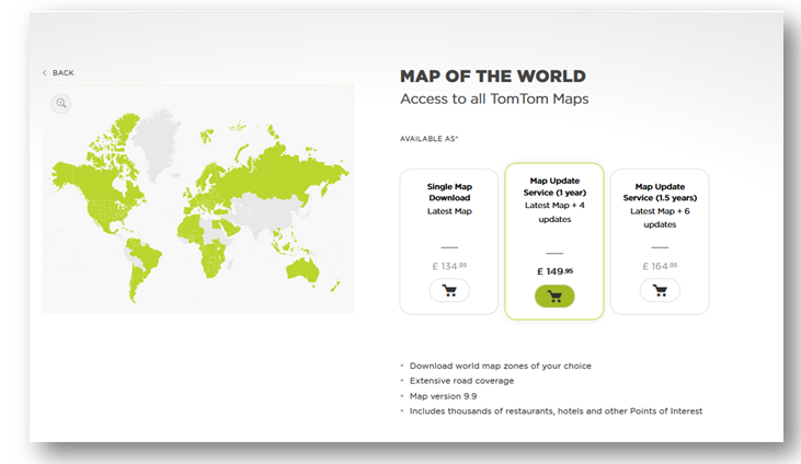 World map available for purchase in in the webshop tomtom forum world map available for purchase in in the webshop tomtom forum and community gumiabroncs Choice Image
