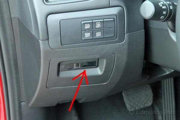 How To Find The Sd Card In The Mazda Cx 5 Tomtom Forum